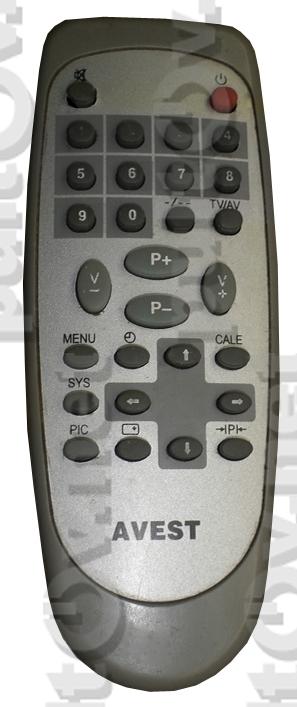 AVEST 54ТЦ-03 пульт для